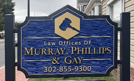 Sussex County Criminal Defense from the Law Offices of Murray, Phillips & Gay