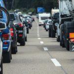 Delaware beach traffic