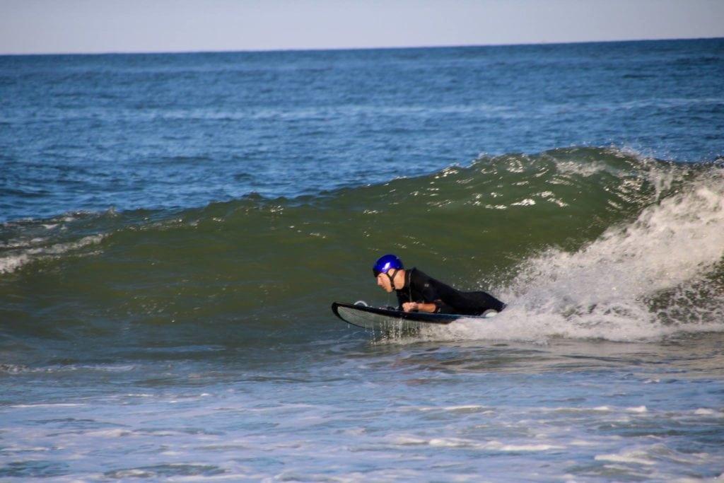 Jay Liesener surfing