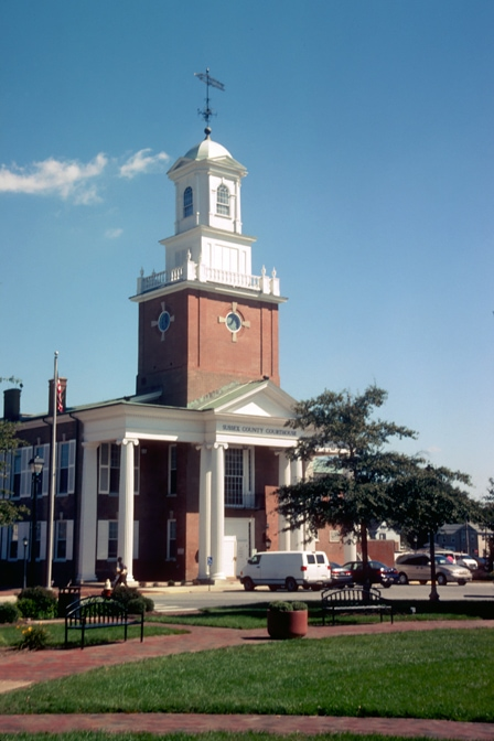 Sussex County Courthouse in Georgetown, DE